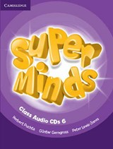 Super Minds Level 6 Class CDs (4) | Herbert Puchta ; Gunter Gerngross ; Peter Lewis-Jones |