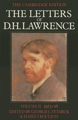 The Letters of D. H. Lawrence, Volume II | D. H. Lawrence |