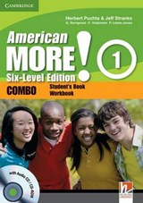 American More! Six-Level Edition Level 1 Combo with Audio CD/CD-ROM | Herbert Puchta |