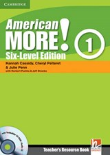 American More! Six-Level Edition Level 1 Teacher's Resource Book with Testbuilder CD-ROM/Audio CD | Hannah Cassidy |