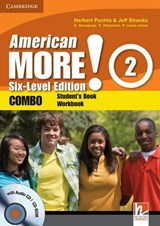 American More! Six-Level Edition Level 2 Combo with Audio CD/CD-ROM | Herbert Puchta |