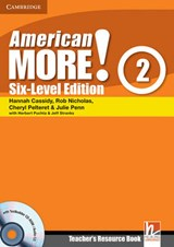 American More! Six-Level Edition Level 2 Teacher's Resource Book with Testbuilder CD-ROM/Audio CD | Hannah Cassidy |