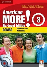 American More! Six-Level Edition Level 3 Combo with Audio CD/CD-ROM | Herbert Puchta |