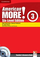 American More! Six-Level Edition Level 3 Teacher's Resource Book with Testbuilder CD-ROM/Audio CD | Rob Nicholas |