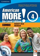 American More! Six-Level Edition Level 4 Combo with Audio CD/CD-ROM | Herbert Puchta |