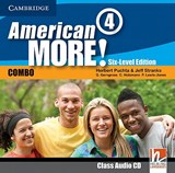 American More! Six-Level Edition Level 4 Class Audio CD | Herbert Puchta |
