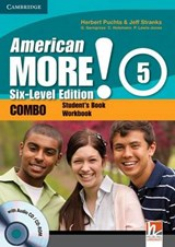 American More! Six-Level Edition Level 5 Combo with Audio CD/CD-ROM | Herbert Puchta |