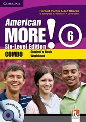 American More! Six-Level Edition Level 6 Combo with Audio CD/CD-ROM | Herbert Puchta |