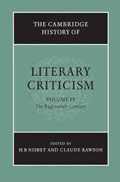 Cambridge History of Literary Criticism: Volume 4, The Eight