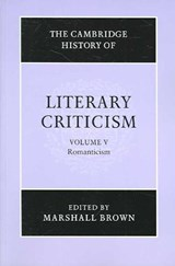 The Cambridge History of Literary Criticism |  |
