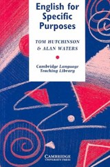 English for Specific Purposes | Tom Hutchinson; Alan Waters |