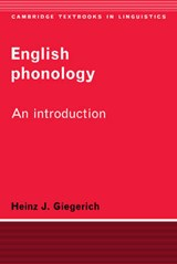 English Phonology | Giegerich, Heinz, J. |