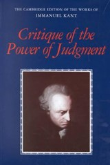 Critique of the Power of Judgment | Immanuel Kant & Paul Guyer & Eric Matthews |