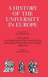 A History of the University in Europe | Walter Ruegg |