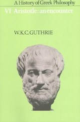 A History of Greek Philosophy | GUTHRIE,  William Keith Chambers |