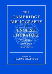 The Cambridge Bibliography of English Literature