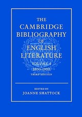 The Cambridge Bibliography of English Literature |  |