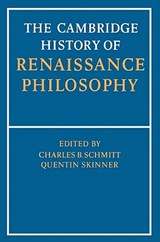 The Cambridge History of Renaissance Philosophy | auteur onbekend |