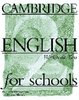Cambridge English for Schools | Andrew Littlejohn |