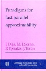 Paradigms for Fast Parallel Approximability | Josep Diaz |