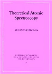 Theoretical Atomic Spectroscopy