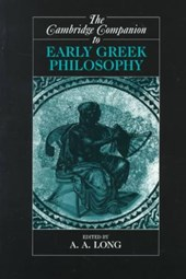 Cambridge Companion to Early Greek Philosophy | A. A. Long |