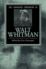 Cambridge Companion to Walt Whitman | Ezra Greenspan |