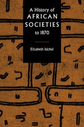 A History of African Societies to