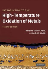 Introduction to the High Temperature Oxidation of Metals | Neil Birks |