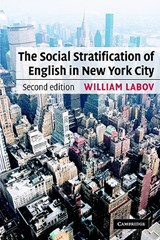 The Social Stratification of English in New York City | William Labov |