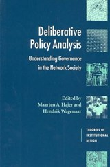 Deliberative Policy Analysis | Maarten Hajer |