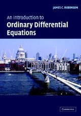 Introduction to Ordinary Differential Equations | James C Robinson |