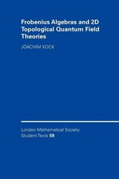 Frobenius Algebras and 2-D Topological Quantum Field Theorie