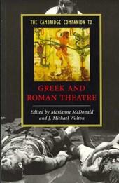 Cambridge Companion to Greek and Roman Theatre