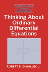 Thinking About Ordinary Differential Equations | Robert E. O'malley |