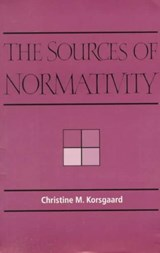 The Sources of Normativity | Christine Marion Korsgaard |