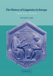 The History of Linguistics in Europe from Plato to