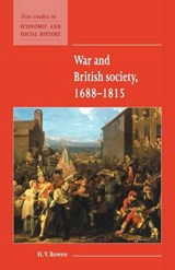 War and British Society 1688-1815 | H.V Bowen |