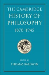 The Cambridge History of Philosophy | auteur onbekend |