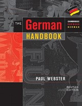 The German Handbook | Paul Webster |