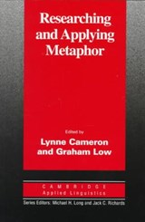 Researching and Applying Metaphor | Lynne Cameron |