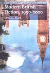 The Cambridge Introduction to Modern British Fiction, 1950-2000 | Dominic (brunel University) Head |