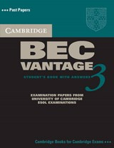Cambridge BEC Vantage 3 [With 2 CDs] | auteur onbekend |