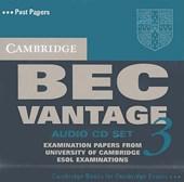 Cambridge Bec Vantage 3 Audio CD Set (2 CDs)
