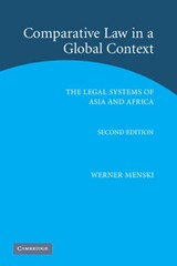 Comparative Law in a Global Context | Werner Menski |