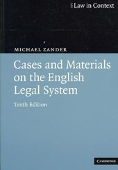 Cases and Materials on the English Legal System