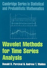 Wavelet Methods for Time Series Analysis | Donald B. Percival |