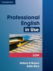 Professional English in Use | Brown, Gillian D. ; Rice, Sally |