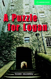 A Puzzle for Logan Level 3 Book with Audio CDs (2) Pack [With CD]