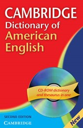 Cambridge Dictionary of American English [With CDROM]